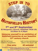 Advert: Step in to Hothfield's History Exhibition