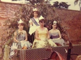 Photo:The 1964 Carnival Queen and her Princesses