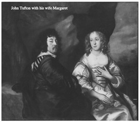 Photo:John Tufton with his wife Margaret