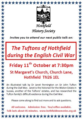 Photo: Illustrative image for the 'The Tufton Family of Hothfield during the English Civil War' page